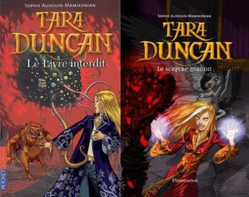 Le livre interdit & Le sceptre maudit - Sophie Audouin-Mamikonian - Tara Duncan