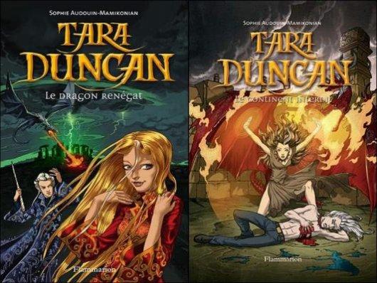 Le dragon renégat & Le continent interdit - Sophie Audouin-Mamikonian - Tara Duncan