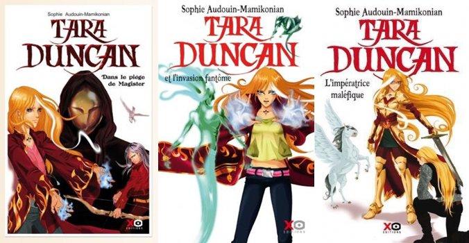 Dans le piège de Magister / L'invasion fantôme / L'impératrice maléfique - Sophie Audouin-Mamikonian - Tara Duncan
