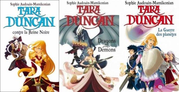 Tara Duncan contre la Reine Noire, Dragons contre Démons & La guerre des planètes - Sophie Audouin-Mamikonian - Tara Duncan