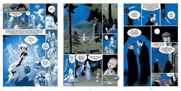 L'étrange vie de Nobody Owens - Gaiman & Russel - Volume 1
