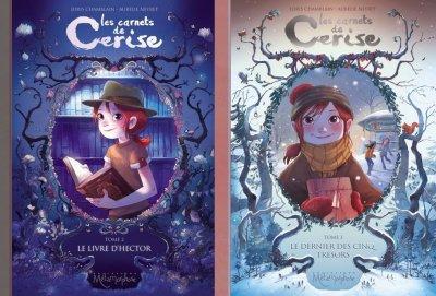 Le livre d'Hector & Le dernier des cinq trésors - Chamblain & Neyret - Les carnets de Cerise