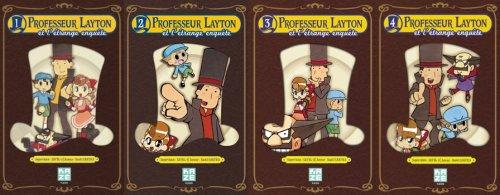 Professeur Layton et l'étrange enquête - Naoki Sakura - Layton