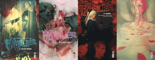 L'âge des ténèbres, La grande bataille, Sorcières, Rose Rouge - Bill Willingham - Fables