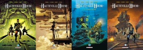 Hauteville House - Fred Duval, Thierry Gioux, Carole Beau et Christophe Quet
