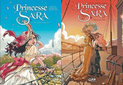 Une petite princesse & Retour aux Indes - Alwett, Moretti & Boccato - Princesse Sara