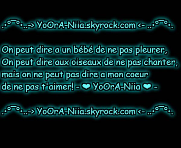 °•..•°¯°•..-> YoOrA-Niia <-..•°¯°•..•°