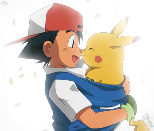 sacha et pikachu <3<3<3 2
