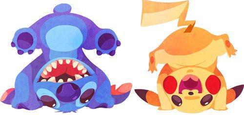 pokemon & disney^^