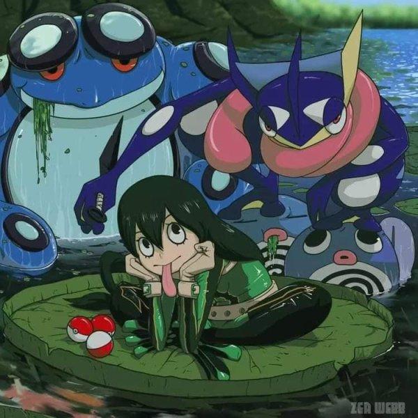 pokemon x my hero academia