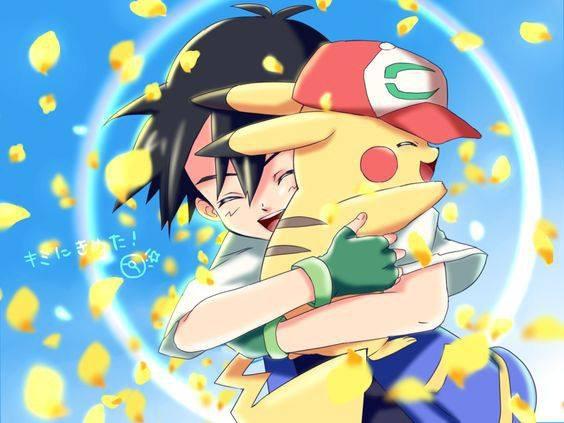 sacha et pikachu <3<3<3 5