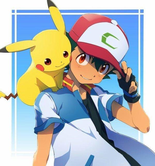 sacha et pikachu <3<3<3 6