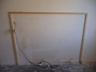 Travaux chambre blog de tapeclou for Tete de lit fabrication maison