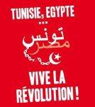 Soutien aux peuples Tunisien Egyptien