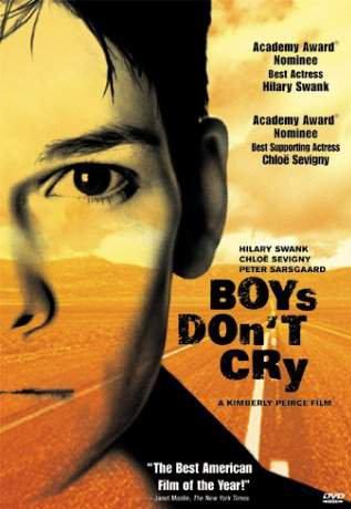 Boys don't cry.