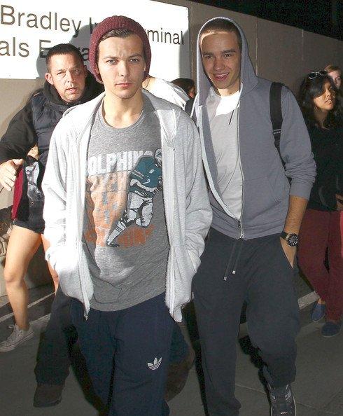 07/11/12 les garçons sont arrivé a LA !