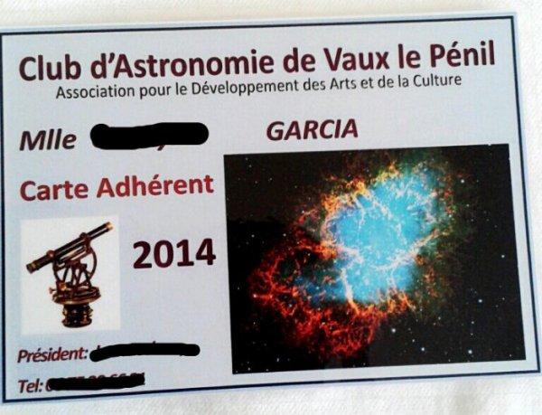 Mon club d'astronomie
