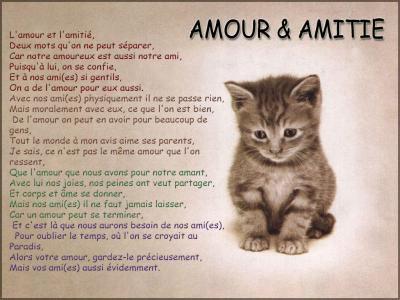 Amour et Amitie