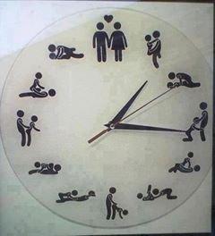 Quelle heure est votre preferé ??