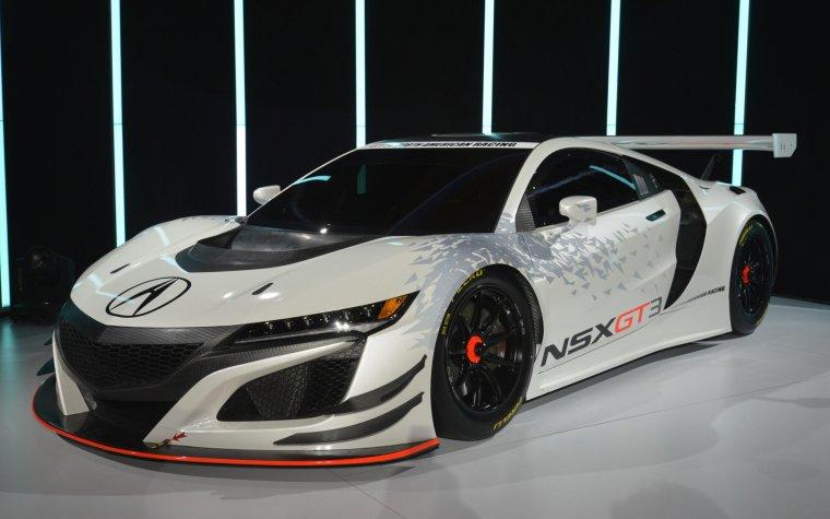 // ACURA NSX GT3 RACE CAR //