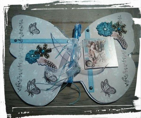 Carnets papillons