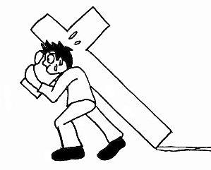 Je veux renoncer à moi même, porter ma croix et te suivre seigneur