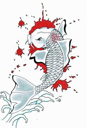 Quelques supers tatoo blog de olivier7700 for Carpe chinoise prix
