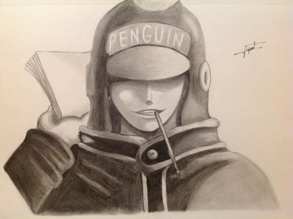 Dessin Penguin ♥