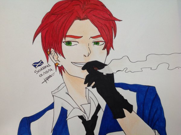 Dessin Hetalia Axis Power : Scotland♥