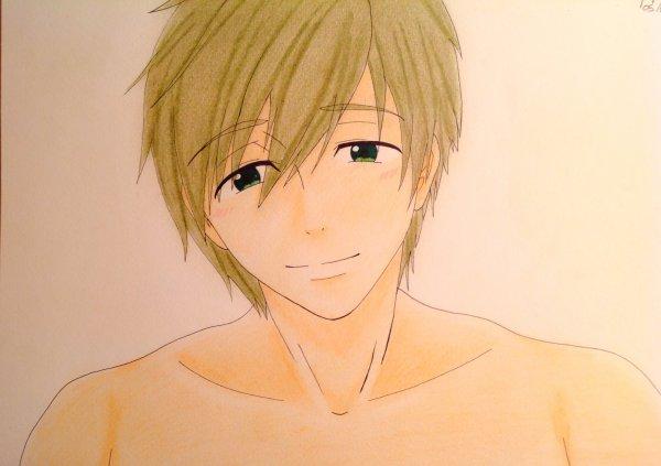 Dessin Makoto Tachibana de Free! Eternal Summer ♥