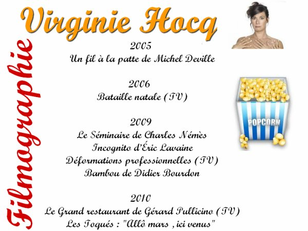 Article: Virginie Hocq