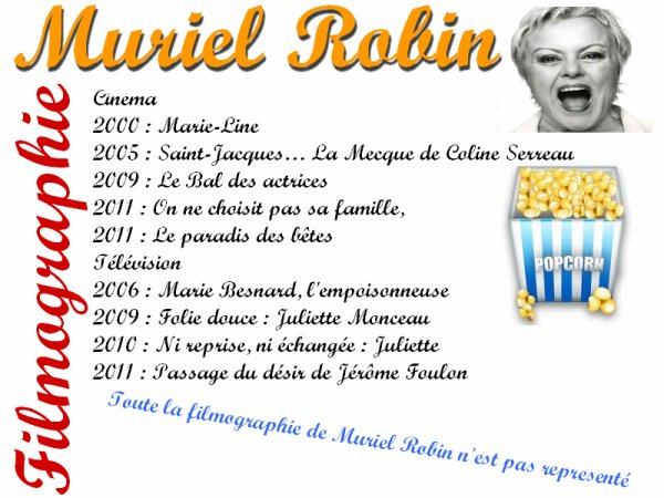 Article: Muriel Robin