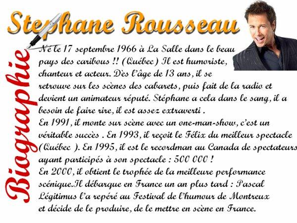 Article: Stéphane Rousseau