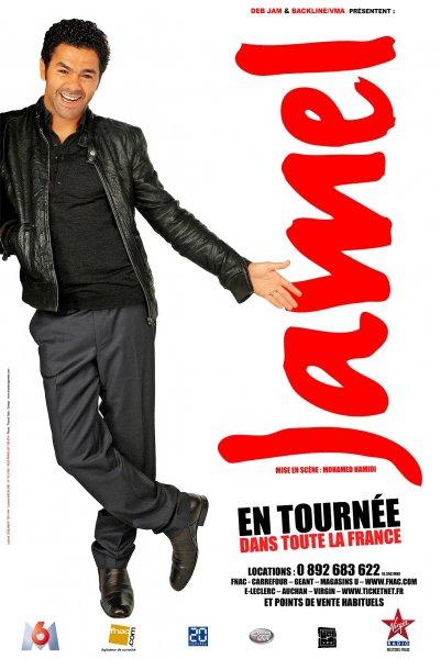 Jamel Debbouze en tournée