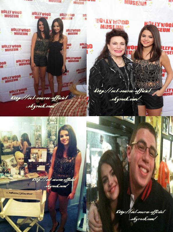 Le 30 mai dernier, Selena s'est rendue à un évènement Mémoire de Marylin Monroe .