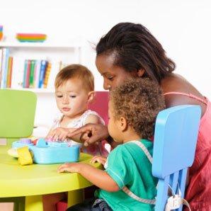 Garde d'enfants + de 3 ans