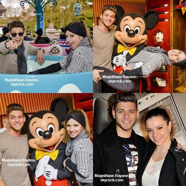 Rayane et Denitsa à Disneyland Paris