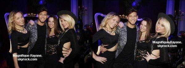 Rayane et Denitsa au club l' Héritage à Paris le 10 Février