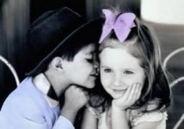 L'amour entre les tout petits ♥