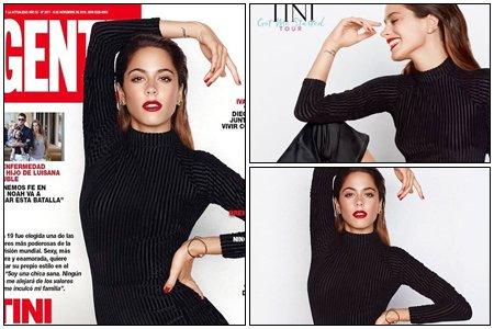 """News : Tini à posée pour le magazine """"Gente"""", les premières photos ont été dévoilées ces cinq derniers jours et je pense qu'elle en dévoilera d'autres d'ici quelques jours."""