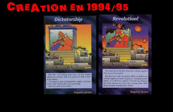 JEU DE CARTE ILLUMINATI NOUVEL ORDRE MONDIAL SORTI EN 1994/1995