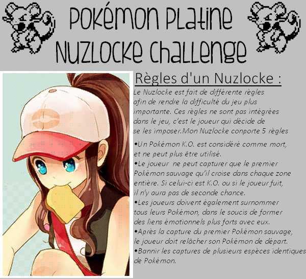 Pokémon Nuzlocke Challenge (Version Platine)