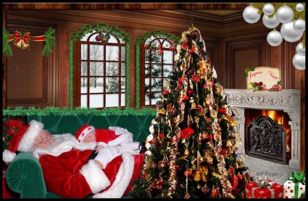 ★`°º•¤.¸ ¸.¤•º°´★*Le Père Noël en plein boulot*★`°º•¤.¸ ¸.¤•º°´★