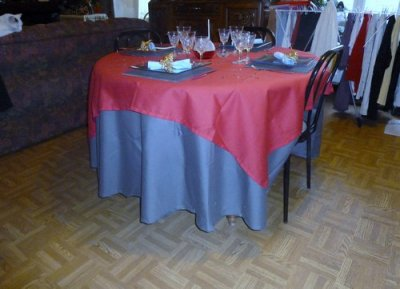 TABLE DE FETES 2010