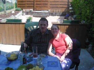 Mon père et ma tite soeur :)