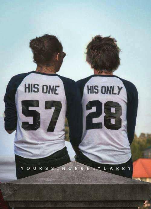 Harry et Louis de dos