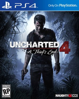 Uncharted 4 :  A thief's end .