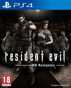 Resident evil HD Remaster .