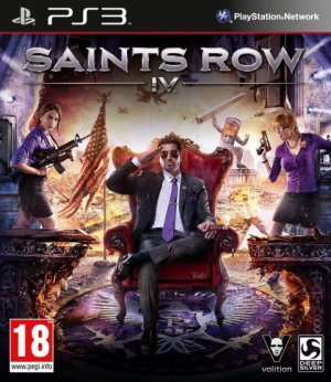 Saints row IV.