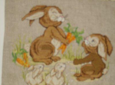 une famille de lapins